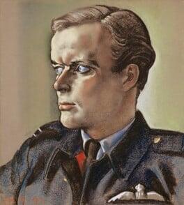 Richard Hillary, by Eric Henri Kennington, 1942 - NPG 5167 - © National Portrait Gallery, London