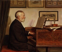 Alfred James Hipkins, by Edith J. Hipkins, 1898 - NPG 2129 - © National Portrait Gallery, London