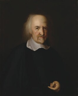 Thomas Hobbes, after John Michael Wright - NPG 106