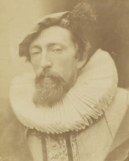 John Evan Hodgson, by David Wilkie Wynfield, 1863 -NPG P74 - © National Portrait Gallery, London