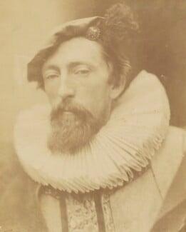 John Evan Hodgson, by David Wilkie Wynfield, 1863 -NPG P74 - © National Portrait Gallery, London