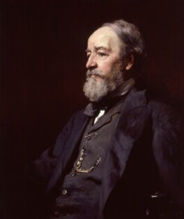 Francis Holl, by Francis Montague ('Frank') Holl,  - NPG 2530 - © National Portrait Gallery, London