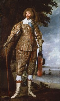 Henry Rich, 1st Earl of Holland, studio of Daniel Mytens - NPG 3770