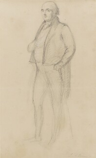 Henry Richard Fox (later Vassall), 3rd Baron Holland, by Sir George Hayter - NPG 1695(g)