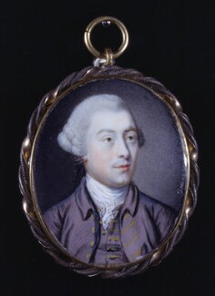 Charles Holland, by J.H., 1760 - NPG 6287 - © National Portrait Gallery, London
