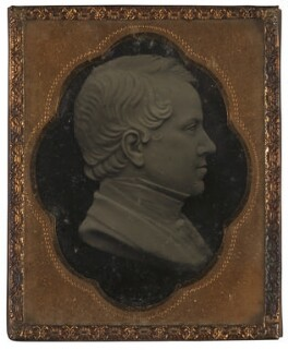 John Holmes, after a wax medallion by Richard Cockle Lucas, mid 19th century, based on a work of 1849-1850 - NPG 1781a - © National Portrait Gallery, London