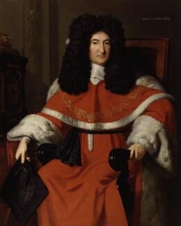Sir John Holt, by Richard van Bleeck - NPG 3101