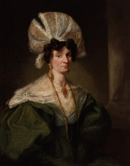 Jane Hood (née Reynolds), by Unknown artist - NPG 856