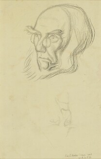 Sir Joseph Dalton Hooker, by William Rothenstein - NPG 4199