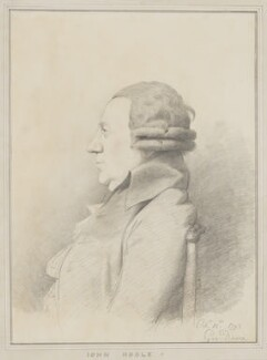 John Hoole, by George Dance - NPG 1143