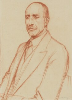 (Charles Harold) St John Hornby, by William Rothenstein - NPG 3872