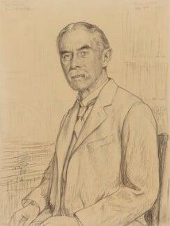 A.E. Housman, by Francis Dodd, 1926 - NPG 3075 - © National Portrait Gallery, London