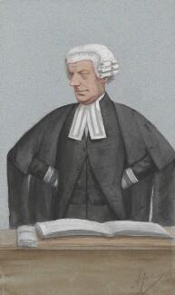 Sir John Walter Huddleston, by Carlo Pellegrini - NPG 2724