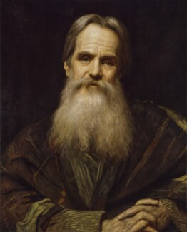 William Holman Hunt, by Sir William Blake Richmond - NPG 2803