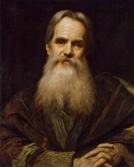 William Holman Hunt, by Sir William Blake Richmond, 1900 - NPG 2803 - © National Portrait Gallery, London