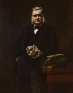 Thomas Henry Huxley, by John Collier, 1883 - NPG  - © National Portrait Gallery, London