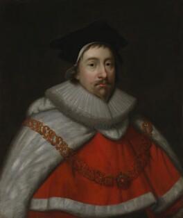 John Finch, Lord Finch of Fordwich, formerly known as Sir Nicholas Hyde, after Cornelius Johnson (Cornelius Janssen van Ceulen) - NPG 461