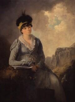 Bella Ibbetson (née Thompson), by Julius Caesar Ibbetson - NPG 6268