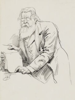 Sir Stafford Henry Northcote, 1st Earl of Iddesleigh, by Harry Furniss - NPG 3396