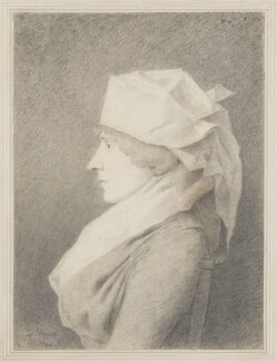 Elizabeth Inchbald (née Simpson), by George Dance - NPG 1144