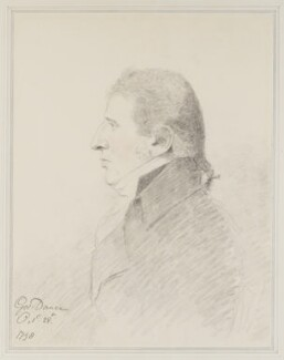 Charles Incledon, by George Dance - NPG 1145