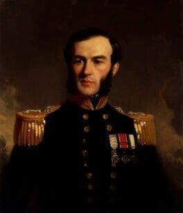 Sir Edward Augustus Inglefield, by Stephen Pearce, exhibited 1853 - NPG 1223 - © National Portrait Gallery, London