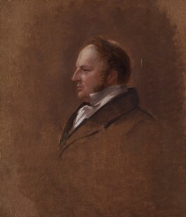 Sir Robert Harry Inglis, 2nd Bt, by Sir George Hayter, 1833-1843 - NPG 4968 - © National Portrait Gallery, London