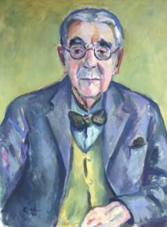 John Nicholson Ireland, by Guy Lindsay Roddon, 1960 - NPG 4290 - © reserved; collection National Portrait Gallery, London