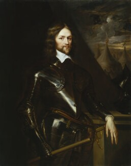 Henry Ireton, copy attributed to Robert Walker, after  Samuel Cooper, and  Sir Anthony van Dyck - NPG 3301