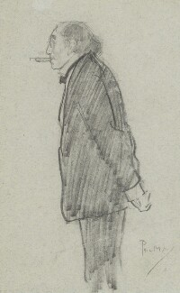 Sir Henry Irving, by Philip William ('Phil') May, 1899 - NPG 3680 - © National Portrait Gallery, London