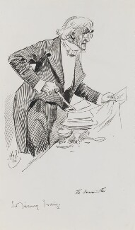 Sir Henry Irving, by Harry Furniss - NPG 3471