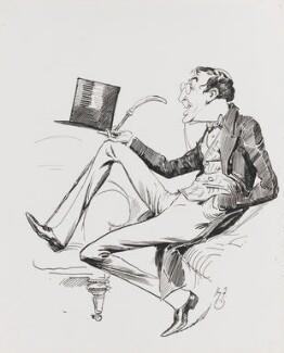 Henry Brodribb Irving, by Harry Furniss - NPG 4095(7)