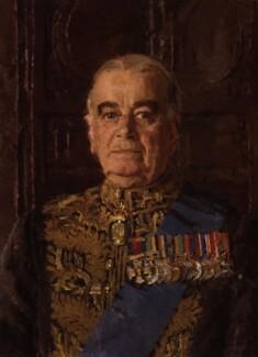 Hastings Lionel ('Pug') Ismay, 1st Baron Ismay, by Allan Gwynne-Jones - NPG 4537