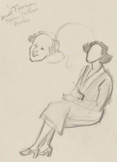 Barbara Jackson (née Ward), Baroness Jackson, by Sir David Low - NPG 4529(379)