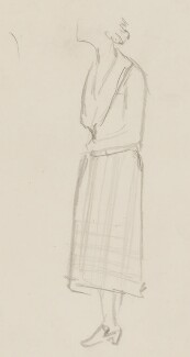 Barbara Jackson (née Ward), Baroness Jackson, by Sir David Low - NPG 4529(381)