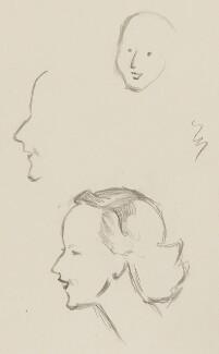 Barbara Jackson (née Ward), Baroness Jackson, by Sir David Low - NPG 4529(382)