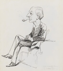 William Wymark Jacobs, by Harry Furniss - NPG 3472
