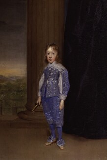 King James II, by Cornelius Johnson (Cornelius Janssen van Ceulen) - NPG 5104
