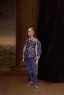 King James II, by Cornelius Johnson, 1639 - NPG  - © National Portrait Gallery, London