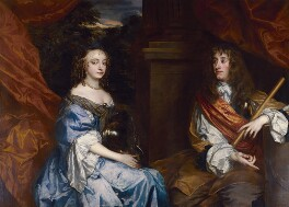 Anne Hyde, Duchess of York; King James II, by Sir Peter Lely, circa 1661-1662 - NPG 5077 - © National Portrait Gallery, London