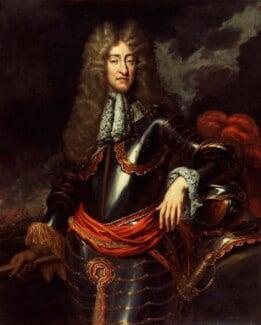 King James II, by Unknown artist, circa 1690 - NPG 366 - © National Portrait Gallery, London