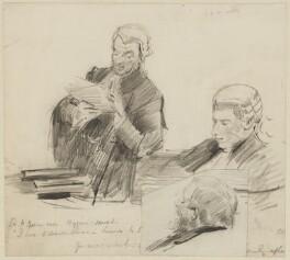 Henry James, 1st Baron James of Hereford, by Sydney Prior Hall - NPG 2254