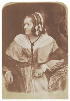 Anna Brownell Jameson (née Murphy), by David Octavius Hill, and  Robert Adamson, 1843-1848 - NPG  - © National Portrait Gallery, London