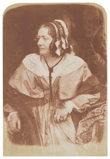 Anna Brownell Jameson (née Murphy), by David Octavius Hill, and  Robert Adamson, 1843-1848 - NPG P6(112) - © National Portrait Gallery, London