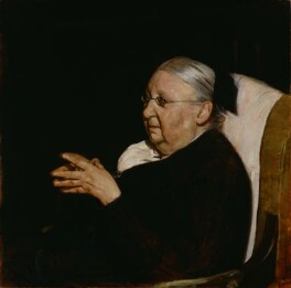 Gertrude Jekyll, by William Nicholson, 1920 - NPG 3334 - © National Portrait Gallery, London