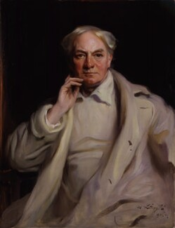 Jerome Klapka Jerome, by Philip Alexius de László, 1921 - NPG 4491 - © National Portrait Gallery, London