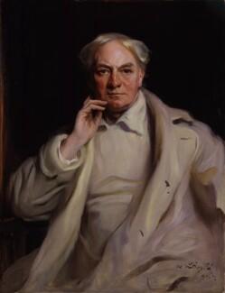 Jerome Klapka Jerome, by Philip Alexius de László, 1921 - NPG 4491 - © National Portrait Gallery, London
