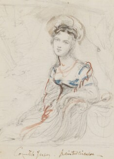 Sarah Sophia Child-Villiers (née Fane), Countess of Jersey, by Sir George Hayter - NPG 883(14)