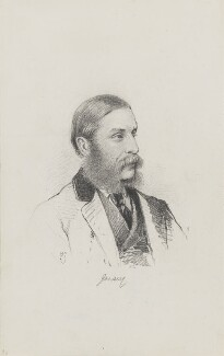 Victor Child-Villiers, 7th Earl of Jersey, by Frederick Sargent, 1870s - NPG 1834(r) - © National Portrait Gallery, London