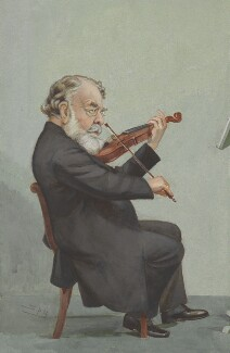 Joseph Joachim, by Sir Leslie Ward, published in Vanity Fair 5 January 1905 - NPG  - © National Portrait Gallery, London